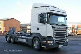 roro trekker Scania R 410 6X2*4 Retarder Lenkachse HIAB Multilift 2015