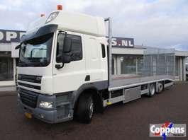 autotransporter vrachtwagen DAF 85 CF 410 6x2 Oprijwagen Euro 5 2013
