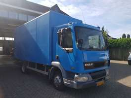bakwagen vrachtwagen DAF Ae 45 2003