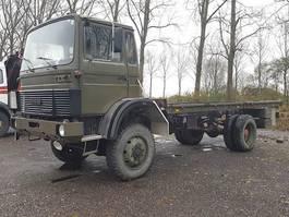 platform vrachtwagen Magirus Deutz 110-17 AW 4X4 1984