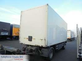 gesloten opbouw aanhanger Trouillet Closed box trailer 1996