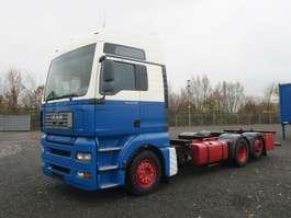 wissellaadbaksysteem vrachtwagen MAN 26.430 LL TGA BDF 6x2 Volluft Intarder 2006