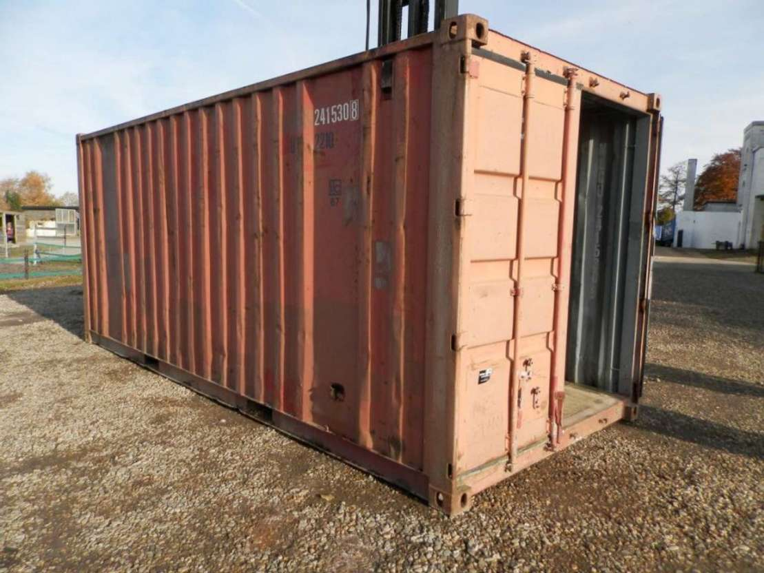 overige containers nvt Zeecontainer 20 ft.