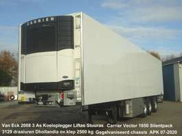 koel-vries oplegger Van Eck UT-3B 3 As Koeloplegger Liftas Stuuras O.V.Klep Carrier Vector 1850 3129... 2008