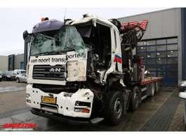 kraanwagen MAN TGA 35.440 8x4 Fassi F420XP Euro 4 2008