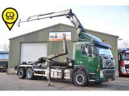 containersysteem vrachtwagen Volvo FM.400.6X2.HAAK+HMF 20-TON 2009