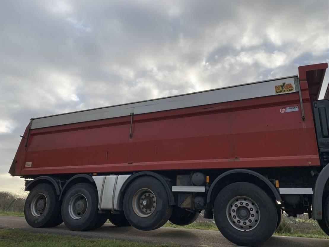 Kipperbak vrachtwagen onderdeel Diversen Hyva 34 kuub 34 m3 kipperbak kipper geïsoleerd asfalt 2007