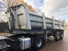 kipper oplegger Trailor Kipper 2 as STEEL suspension LAMES 1989