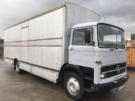 bakwagen vrachtwagen > 7.5 t Mercedes Benz LP1113 **BOXTRUCK-CAISSE-KOFFER** 1972