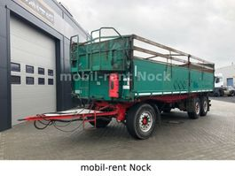 kipper aanhangwagen Lueck Getreidekipper/Rollplane/SAF