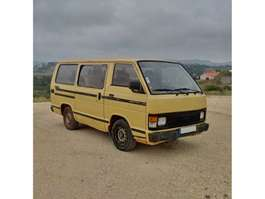 taxibus Toyota Hiace H12 LH51 2.4 D 9 seats left hand drive 1989
