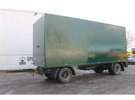 gesloten opbouw aanhanger Floor FLA-10-101 Aanhangwagen 1988