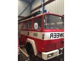 oldtimer vrachtwagen Magirus Deutz 135D12 brandweer 1969