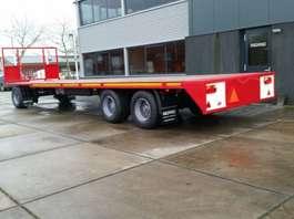 platte aanhanger vrachtwagen agpro 3 as