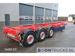 containersysteem oplegger Schmitz Cargobull SGF*S3 * 2 x LIFTAXLE * 2013