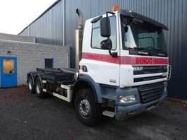 containersysteem vrachtwagen DAF CF 85 460 6x4 GROS PONTS 2008
