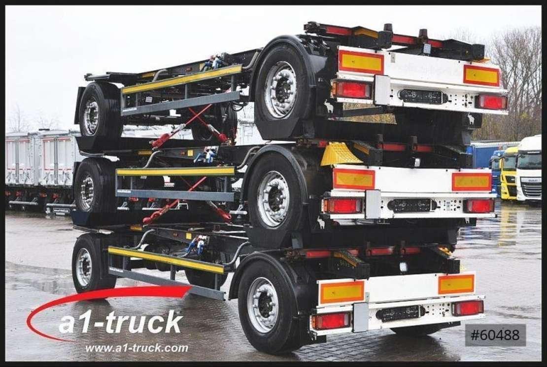 wissellaadbaksysteem aanhanger Schmitz Cargobull AWF 18, BDF Standard,  1 Vorbesitzer, 2014