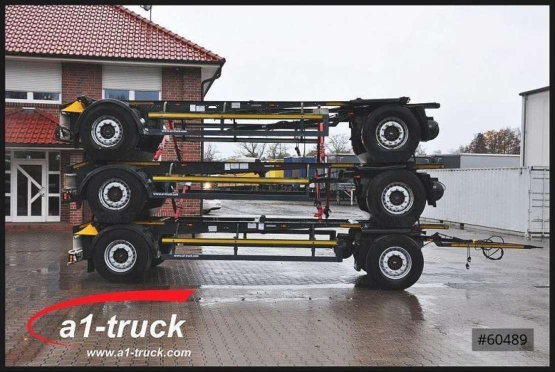 wissellaadbaksysteem aanhanger Schmitz Cargobull AWF 18, BDF Standard,  1 Vorbesitzer, 2013