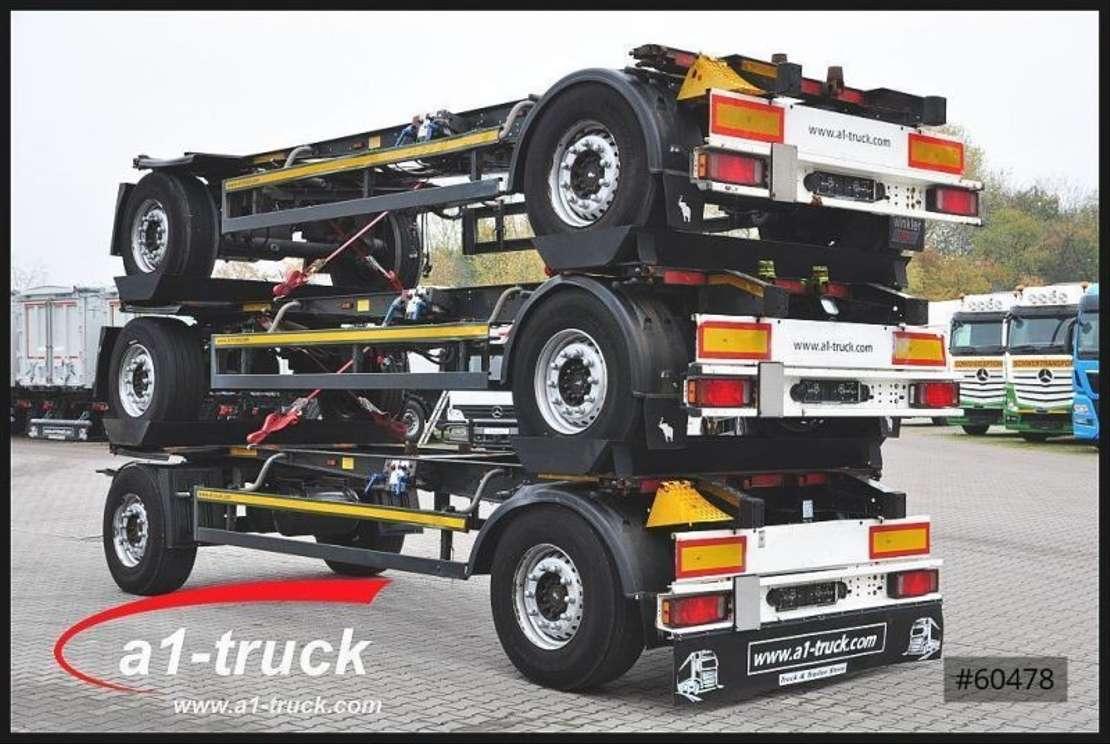 wissellaadbaksysteem aanhanger Schmitz Cargobull AWF 18, BDF Standard,  1 Vorbesitzer 2013