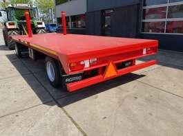 platte aanhanger vrachtwagen agpro 2 as 20 t 2019