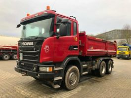 kipper vrachtwagen > 7.5 t Scania G480 6x4 Euro 5 Kipper Meiller Bordmatic 2014