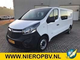 gesloten bestelwagen Opel vivaro dub cab airco l2h1 39000km 2018