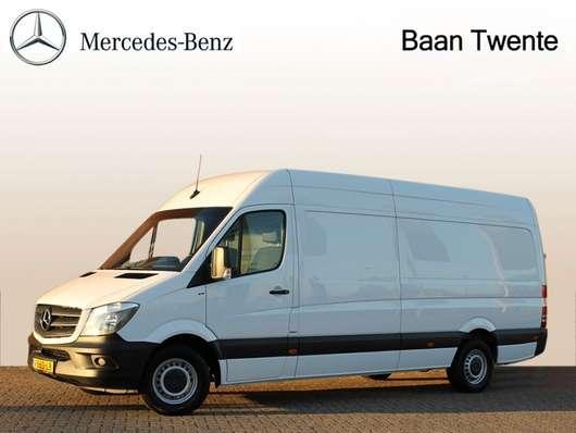 gesloten bestelwagen Mercedes Benz Sprinter 319 3.0 CDI L3H2 | Trekhaak 3500 kg. Airco, Geveerde stoel | Ce... 2018