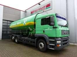 tankwagen vrachtwagen MAN MAN TGA Spitzer Silofahrzeug 31 m³ / 5 Kammern