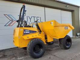 wieldumper Thwaites 9000 wieldumper 9 tonne dumper knikdumper wheeled 2005