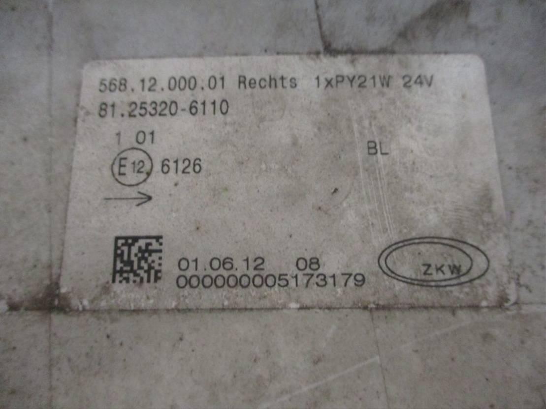Mistlamp vrachtwagen onderdeel MAN 1.25320-6110 Mistlamp Rechts