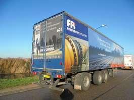 schuifzeil oplegger Fruehauf 3-Axle Tautliner / Steering / Liftaxle / Kooiaap / NL Trailer 2005