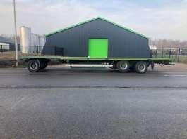 platte aanhanger vrachtwagen Van Hool AGROLINER - 3 2004