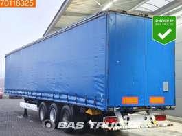 schuifzeil oplegger Krone SD SAF Edscha 3 axles TUV 4-2020 2011