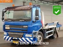 containersysteem vrachtwagen DAF CF75.310 4X2 Portaal Skiploader Absetzkipper Euro 5 2008