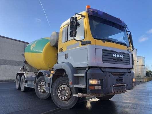 betonmixer vrachtwagen MAN TGA 35.390 BB 2005