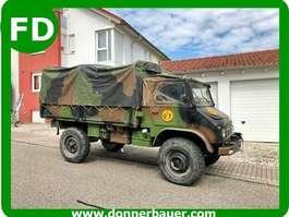 leger vrachtwagen Unimog Unimog 404 Cabrio, ex Militär, 1a Zustand, 12000 Kilometer 1961