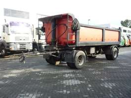 kipper aanhanger Floor FLA 10-102   Steel Rear Tipper 1991