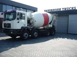 betonmixer vrachtwagen MAN FE 35-360  8x4 Concrete mixer 9000 Liter 2003