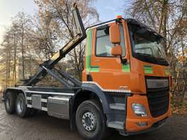 containersysteem vrachtwagen DAF CF  440 6X2 Haakarm-Motor PTO-Liftas-Euro 6 2015
