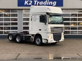 zware last trekker DAF XF 105.460 FTS 6x2 Super Space cab Automaat Airco 2012
