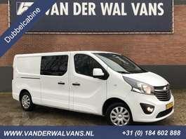 gesloten bestelwagen Opel Vivaro 1.6CDTI 125pk L2H1 Dubbele Cabine Sport Airco, navi, trekhaak 2018