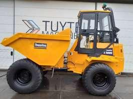 wieldumper Thwaites 9000 9 tonne wiel dumper site dumper with cab 2003