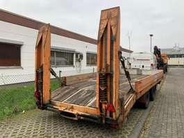 overige aanhangwagen WEHL Wehl Tieflader 13t mit Rampen Baumaschinen 1989