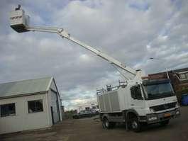 autohoogwerker vrachtwagen Mercedes Benz 1222 custer 14,5 meter 2010