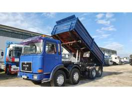 kipper vrachtwagen MAN 30.331 Big Axles 1988