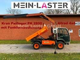 hoogwerker bedrijfswagen Multicar AUSA M250 Kipper + PK 2800 mit Funkfernbedienung 2007