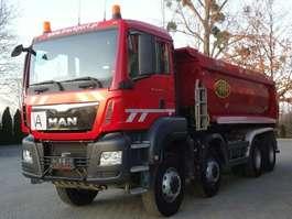 kipper vrachtwagen MAN TGS 41.440 BB 8x6 Muldenkipper MEILLER 2017