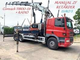 kraanwagen DAF CF 85.410 - 6X4 - EURO 5 - MANUAL ZF + CRANE CORMACH 51.800 - E6 -  HYDR... 2007