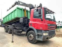 containersysteem vrachtwagen DAF CF 85.430 - 6x4  + EPSILON E160L82 - STEEL SPRING + HUB REDUCTION AXLES ... 2003