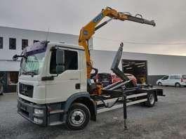 containersysteem vrachtwagen MAN TGM 12.290 Euro5 2010